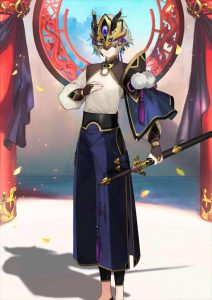 Lanling Wang Mask Character