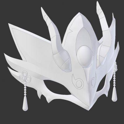 Lanling Wang Mask Render